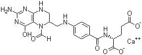 Calcium Folinate Leucovorin Calcium CAS 1492-18-8