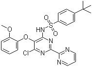 N-[6-chloro-5-(2-methoxyphenoxy)[2,2′-bipyrimidin]-4-yl]-4-(1,1-dimethylethyl)benzenesulfonamide CAS 150727-06-3