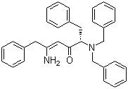 (S,Z)-5-Amino-2-(dibenzylamino)-1,6-diphenylhex-4-en-3-one CAS 156732-13-7