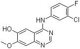 4-(3-Chloro-4-fluorophenylamino)-7-methoxyquinazolin-6-ol CAS 184475-71-6