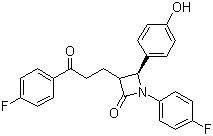 (3R,4S)-1-(4-fluorophenyl)-3-(3-(4-fluorophenyl)-3-oxopropyl)-4-(4-hydroxyphenyl)azetidin-2-one CAS 191330-56-0