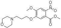 Methyl 4-methoxy-3-(3-morpholinopropoxy)-2-nitrobenzoate CAS 214472-37-4