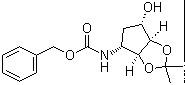 benzyl (3aS,4R,6S,6aR)-6-hydroxy-2,2-dimethyltetrahydro-3aH-cyclopenta[d][1,3]dioxol-4-ylcarbamate CAS 274693-53-7
