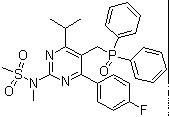 N-[5-(Diphenylphosphinoylmethyl)-4-(4-fluorophenyl)-6-isopropylpyrimidin-2-yl]-N-methylmethanesulfonamide CAS 289042-10-0