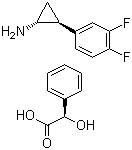 1R,2R)-2-(3,4-difluorophenyl) cyclopropanamine(S)-(carboxylato(phenyl) methyl)holmium CAS 376608-71-8