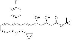 Tert-butyl Pitavastatin CAS 586966-54-3