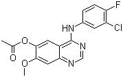 4-(3-Chloro-4-fluorophenylamino)-7-methoxyquinazolin-6-yl Acetate CAS 788136-89-0