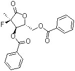 ((2R,3R,4R)-3-(benzoyloxy)-4-fluoro-4-methyl-5-oxotetrahydrofuran-2-yl)methyl benzoate CAS 874638-80-9
