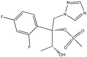 (2R,3R)-2-(2,4-difluorophenyl)-1-(1H-1,2,4-triazol-1-yl)butane-2,3-diol Mesylate CAS 1175536-50-1