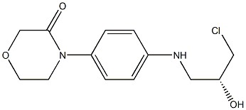 4-[4-(N-(3-chloro-(2R)-2-hydroxy-1-p ropyl)amino)phenyl]morpholin-3-one 2-[(2R)-2-hydroxy-3-{[4-(3-oxomorph olin-4-yl)phenyl]amino}propyl]-1H-is oindole-1,3(2H)-dione 2-[[(5S)-2-Oxo-3-[4-(3-oxo-4-morpho linyl)phenyl]-5-oxazolidinyl]methyl]-1H-isoindole-1,3(2H)-dione CAS 1252018-10-2