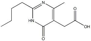 2-butyl-1,6-dihydro-4-Methyl-6-oxo-5-PyriMidineacetic acid CAS 1315478-16-0