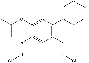 5-Methyl-2-(1-Methylethoxy)-4- (4-piperidinyl)- BenzenaMine hydrochloride (1:2) CAS 1380575-45-0