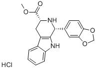 (1R,3R)-9H-PYRIDO[3,4-B]INDOLE-3-CARBOXYLIC ACID, 1,2,3,4-TETRAHYDRO-1-(3,4-METHYLENEDIOXYPH ENYL), METHYL ESTER, HYDROCHLORIDE CAS 171752-68-4