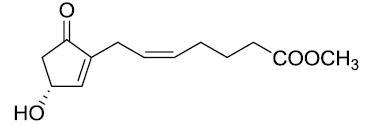 7-(3-(R)-Hydroxy-5-oxo-1-cyclopenten-1-yl)-5-(Z)-heptenoic acid methyl este CAS 42541-96-8