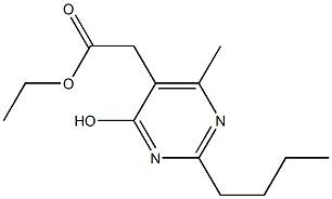 2-Butyl-5-ethoxycarbonylMethyl-4-hydroxy-6-MethylpyriMidine CAS 503155-65-5