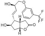 (+)-(3AR,4R,5R,6AS)-HEXAHYDRO-5-HYDROXY-4-[(1E,3R)-3-HYDROXY-4-(3-TRIFLUOROMETHYL)PHENOXY-1-BUTENYL]-2H-CYCLOPENTA[B]FURAN-2-ONE CAS 53872-60-9