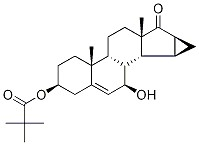 7Beta-hydroxy-15Beta,16Beta-methylene-3Beta-pivaloyloxy-androst-5-en-17-one CAS 82543-09-7