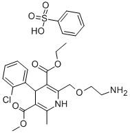 (RS)-3-ethyl 5-methyl 2-[(2-aminoethoxy)methyl]-4-(2-chlorophenyl)-6-methyl-1,4-dihydropyridine-3,5-dicarboxylate CAS 88150-42-9