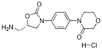 (S)-4-(4-(5-(Aminomethyl)-2-oxooxazolidin-3-yl)phenyl)morpholin-3-one.HCl CAS 898543-06-1
