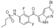 N-[3-[(5-Bromo-1H-pyrrolo[2,3-b]pyridin-3-yl)carbonyl]-2,4-difluorophenyl]-1-propanesulfonamide CAS 918504-27-5
