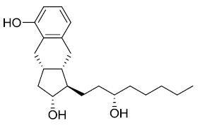 (1R,2R,3aS,9aS)-2,3,3a,4,9,9a-Hexahydro-1-[(3S)-3-hydroxyoctyl]-1H-benz[f]indene-2,5-diol CAS 101692-02-8