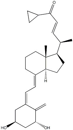 (5Z,7E,22E)-9,10-Seco-26,27-cyclo-1Alpha,3Beta-dihydroxycholesta-5,7,10(19),22-tetren-24-one CAS 126860-83-1