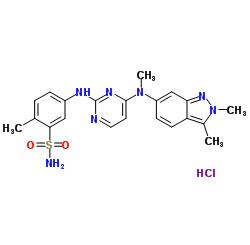 Pazopanib hydrochloride CAS 635702-64-6