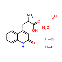 2-Amino-3-(1,2-dihydro-2-oxoquinoline-4-yl)propanoic acid.2HCL.2H2O CAS 5162-90-3