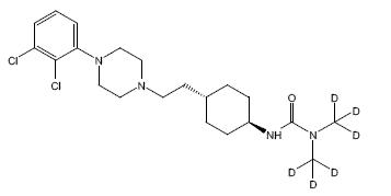 Cariprazine D6 CAS N/A
