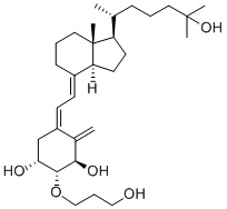 2-(3-hydroxypropoxy)-1,25-dihydroxyvitaminD3 CAS 104121-92-8