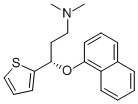 S-(+)-N,N-DIMETHYL-3-(1-NAPHTHLENYLOXY)-3-(2-THIENYL)-PROPANAMINE CAS 116817-12-0