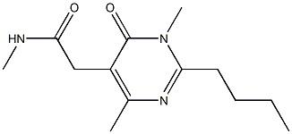 2-(2-butyl-4-hydroxy-6-MethylpyriMidin-5-yl)-N,N-diMethylacetaMide CAS 1315478-13-7