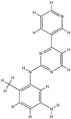 N-(5-Amino-2-methylphenyl)-4-(3-pyridyl)-2-pyrimidineamine CAS 152460-10-1