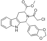 (1R,3R)-METHYL-1,2,3,4-TETRAHYDRO-2-CHLOROACETYL-1-(3,4-METHYLENEDIOXYPHENYL)-9H-PYRIDO[3,4-B]INDOLE-3-CARBOXYLATE CAS 171489-59-1