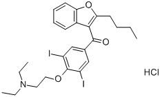 Amiodaronehydrochloride CAS 19774-82-4