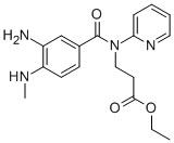 3-[(3-AMINO-4-METHYLAMINO-BENZOYL)-PYRIDIN-2-YL-AMINO]-PROPIONICACIDETHYLESTER CAS 212322-56-0