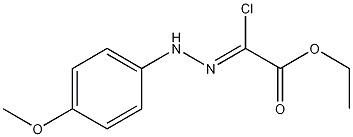 Aceticacid,2-chloro-2-[2-(4-methoxyphenyl)hydrazinylidene],ethylester CAS 27143-07-3