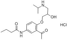 Acebutololhydrochloride CAS 34381-68-5