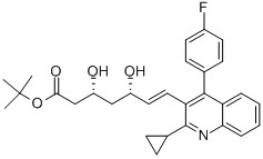 Tert-buthylPitavastatin CAS 586966-54-3