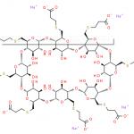 Sugammadex sodium CAS 343306-79-6