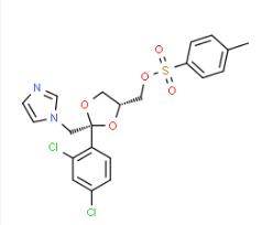 cis-[2-(2,4-Dichlorophenyl)-2-(1H-imidazol-1-ylmethyl)-1,3-dioxolan-4-yl]methyl-4-methylbenzenesulphonate CAS 134071-44-6