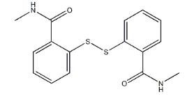 Dithio-2,2-bis (n-methylbenzamide) CAS 2527-58-4