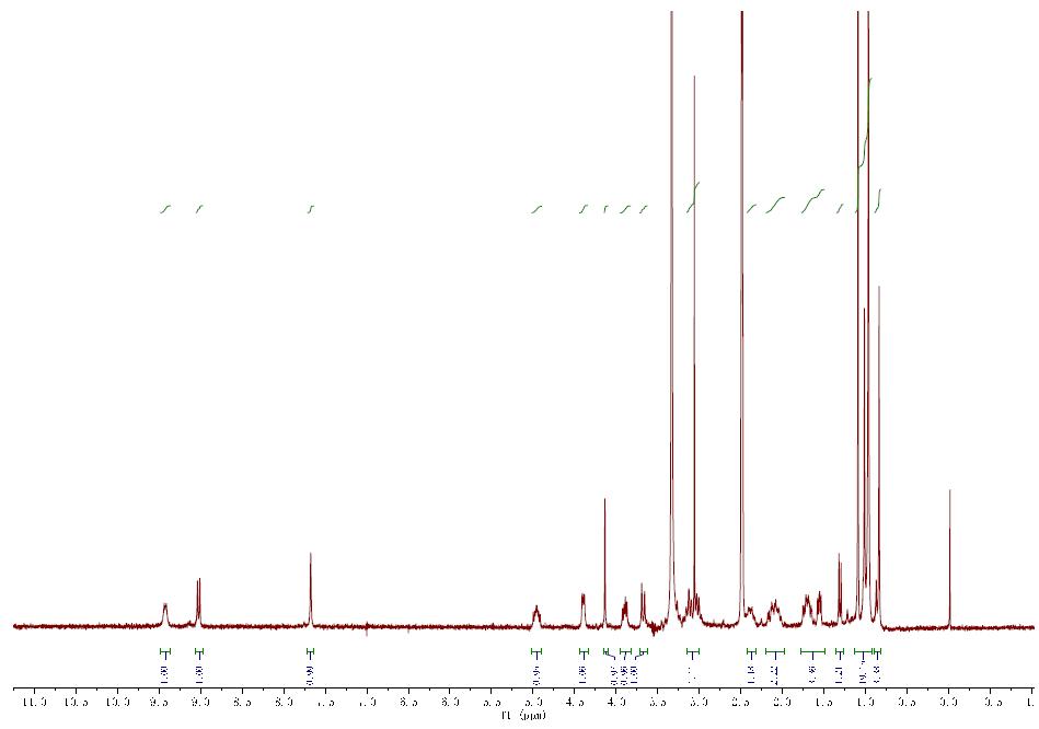 HNMR of PF-07321332 CAS 2628280-40-8